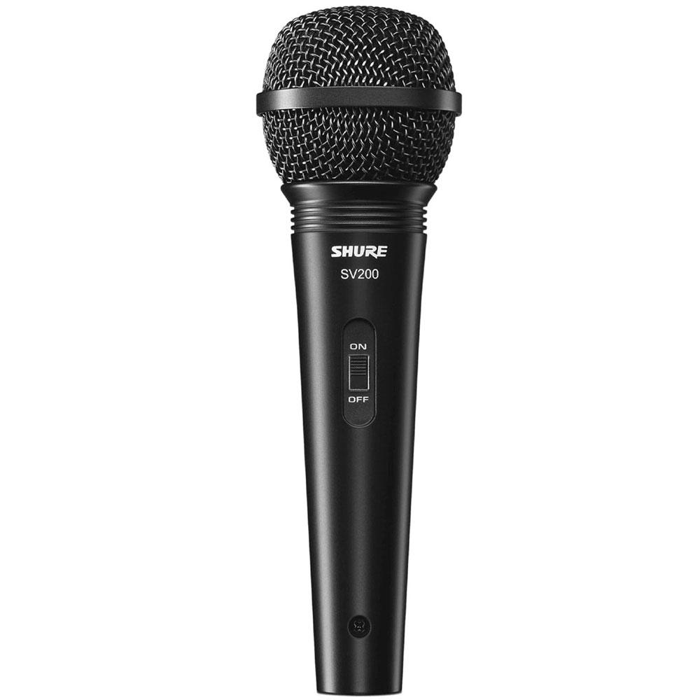 Microfone c/ Fio de Mão SV 200 - Shure