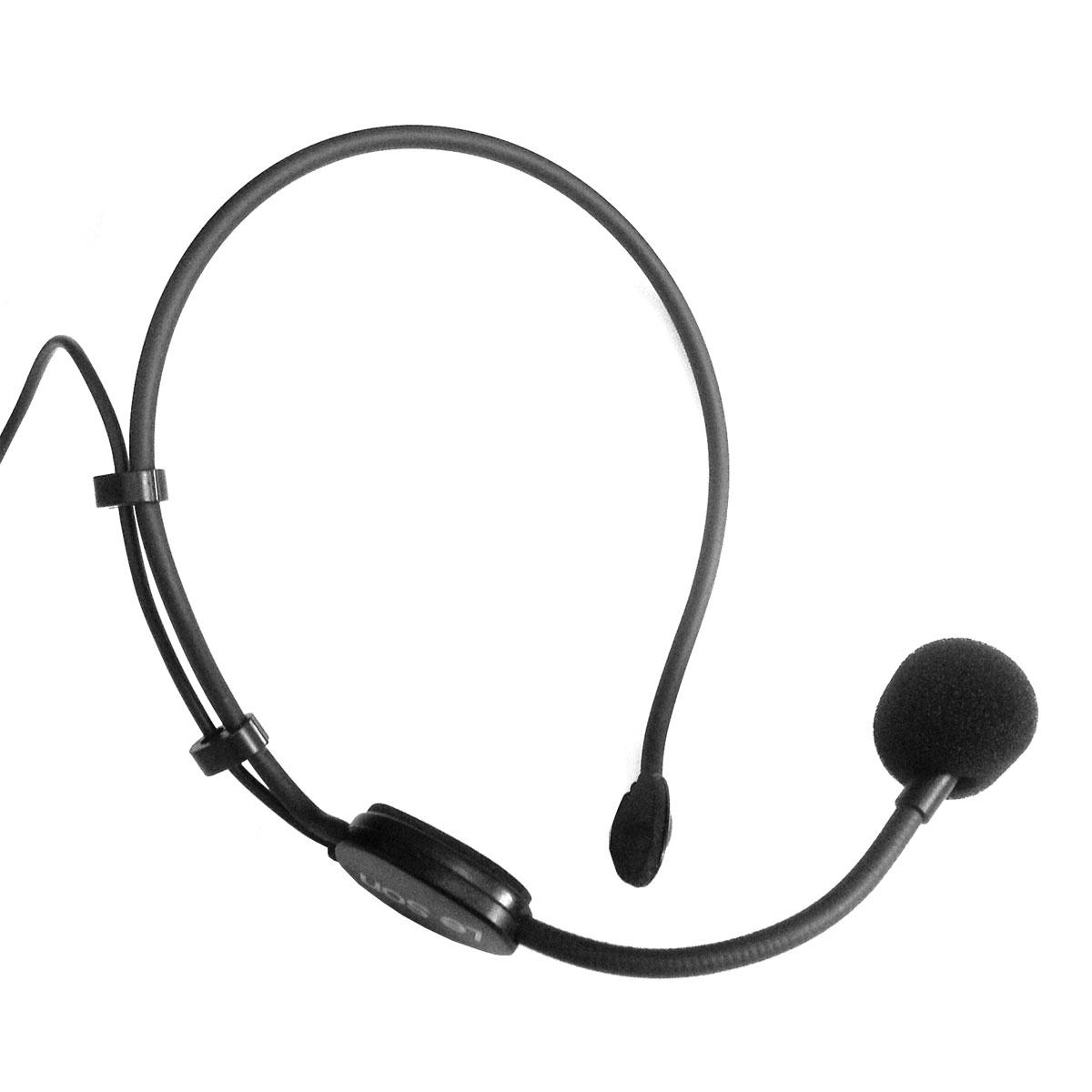 HD75R - Microfone c/ Fio Headset / Cabe�a HD 75 R - Le Son