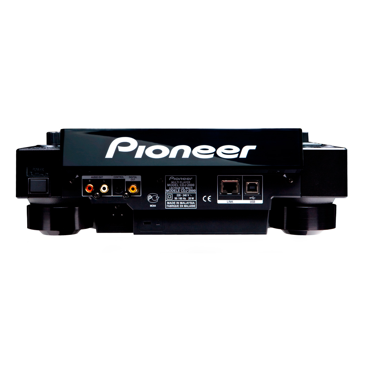 CDJ Player c/ USB CDJ 2000 - Pioneer