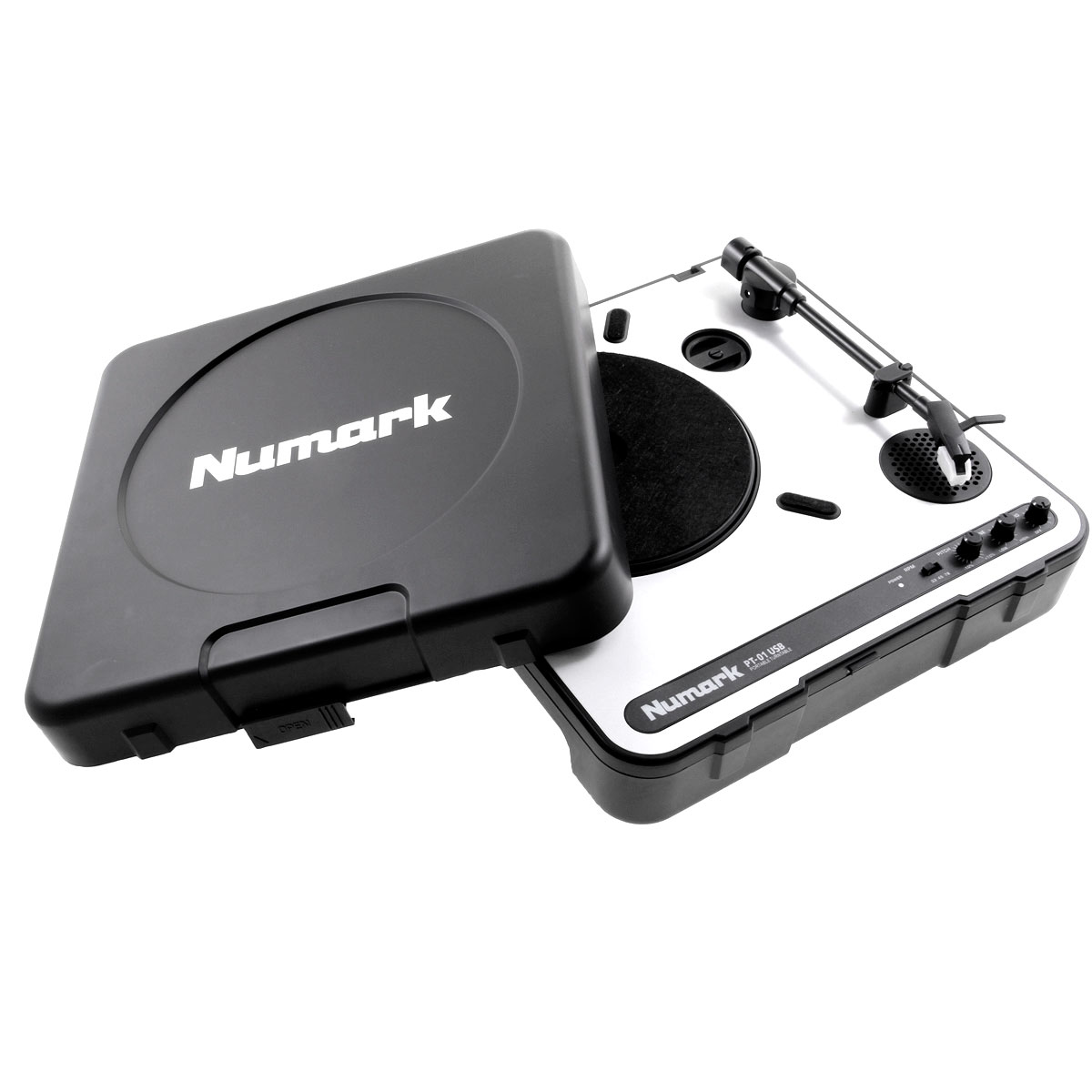 PT01USB - Toca Discos / Pick-up c/ USB PT 01 USB - Numark