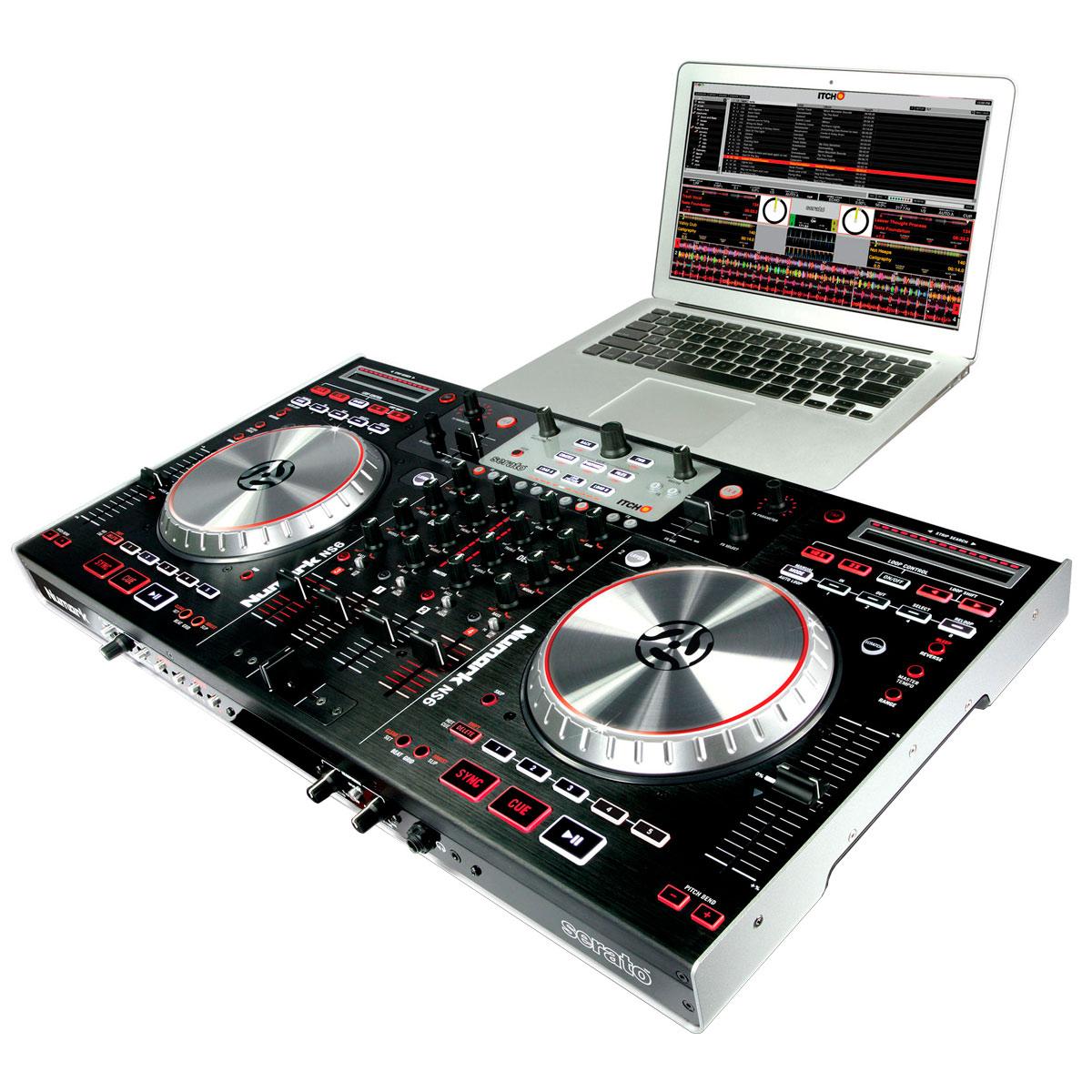 NS6 - Controladora DJ c/ Software Serato Itch NS 6 - Numark