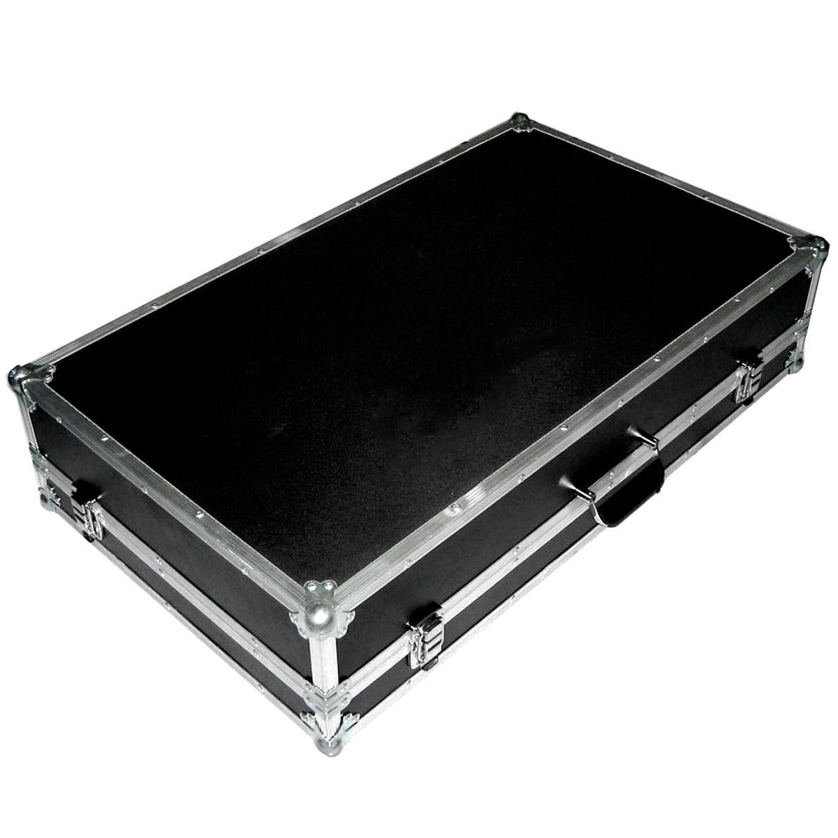 Case p/ 2 CDJ 350 + 1 Mixer + Fone c/ Tampa Removível