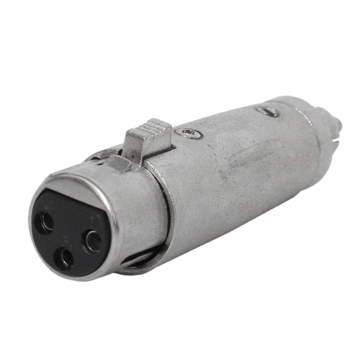 Plug Adaptador RCA-M / XLR-F c/ Trava SKC085 - CSR