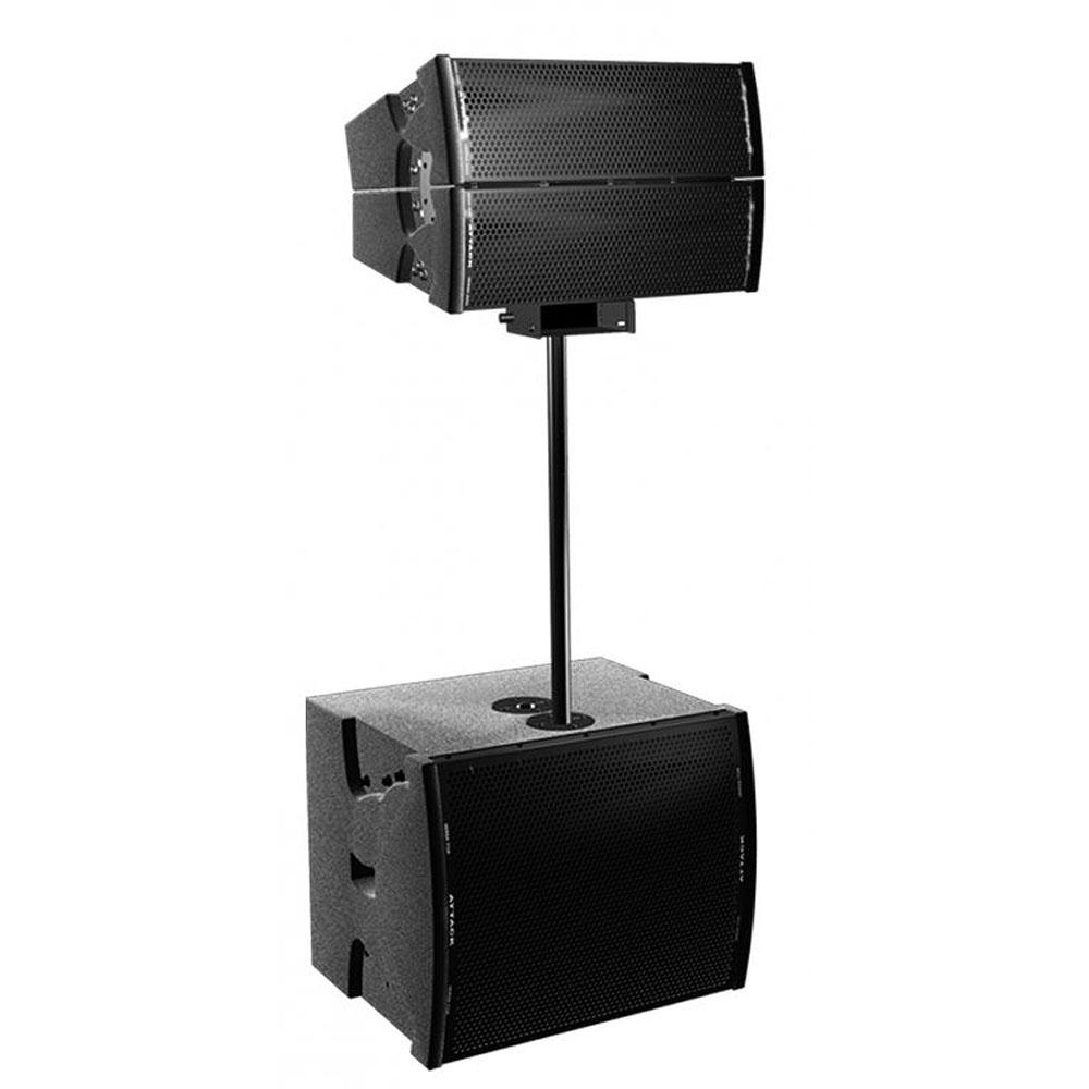 Suporte p/ Caixa 80cm c/ Base Mark Audio