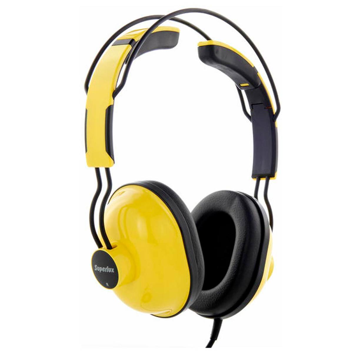 HD651 - Fone de Ouvido On-ear Amarelo HD 651 - Superlux