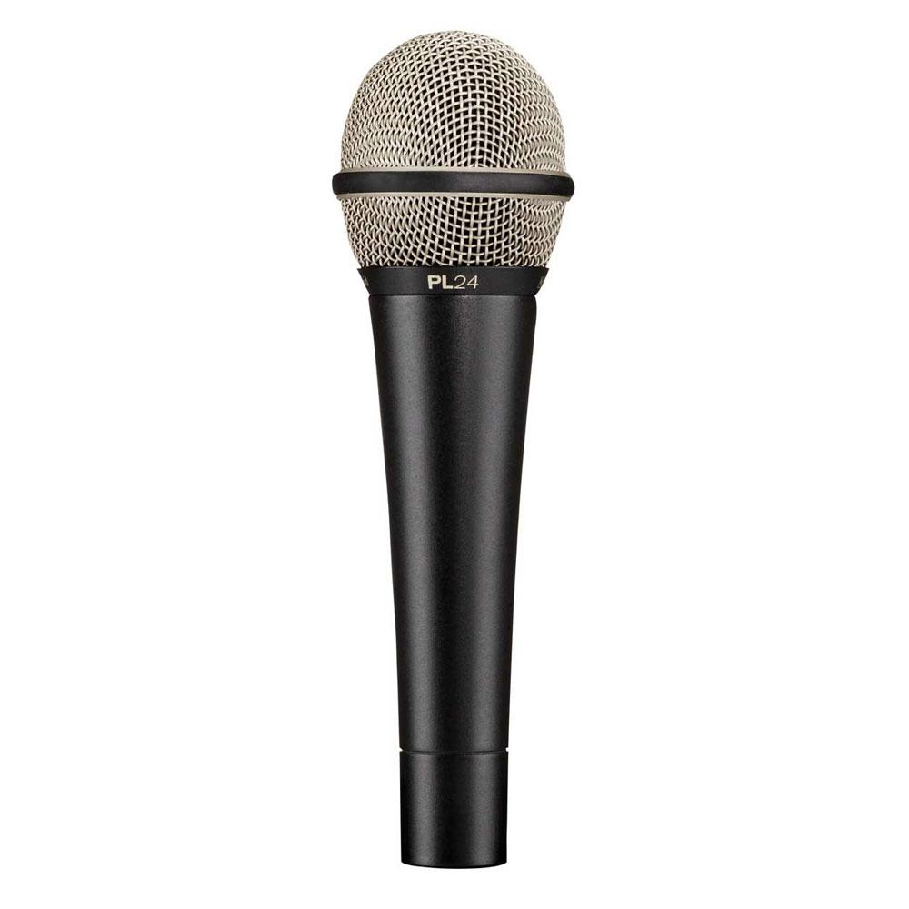 Microfone c/ Fio de Mão PL 24 - Electro-Voice