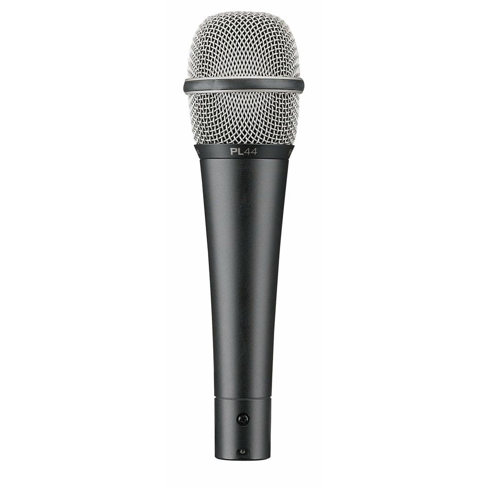 PL44 - Microfone c/ Fio de Mão PL 44 - Electro-Voice