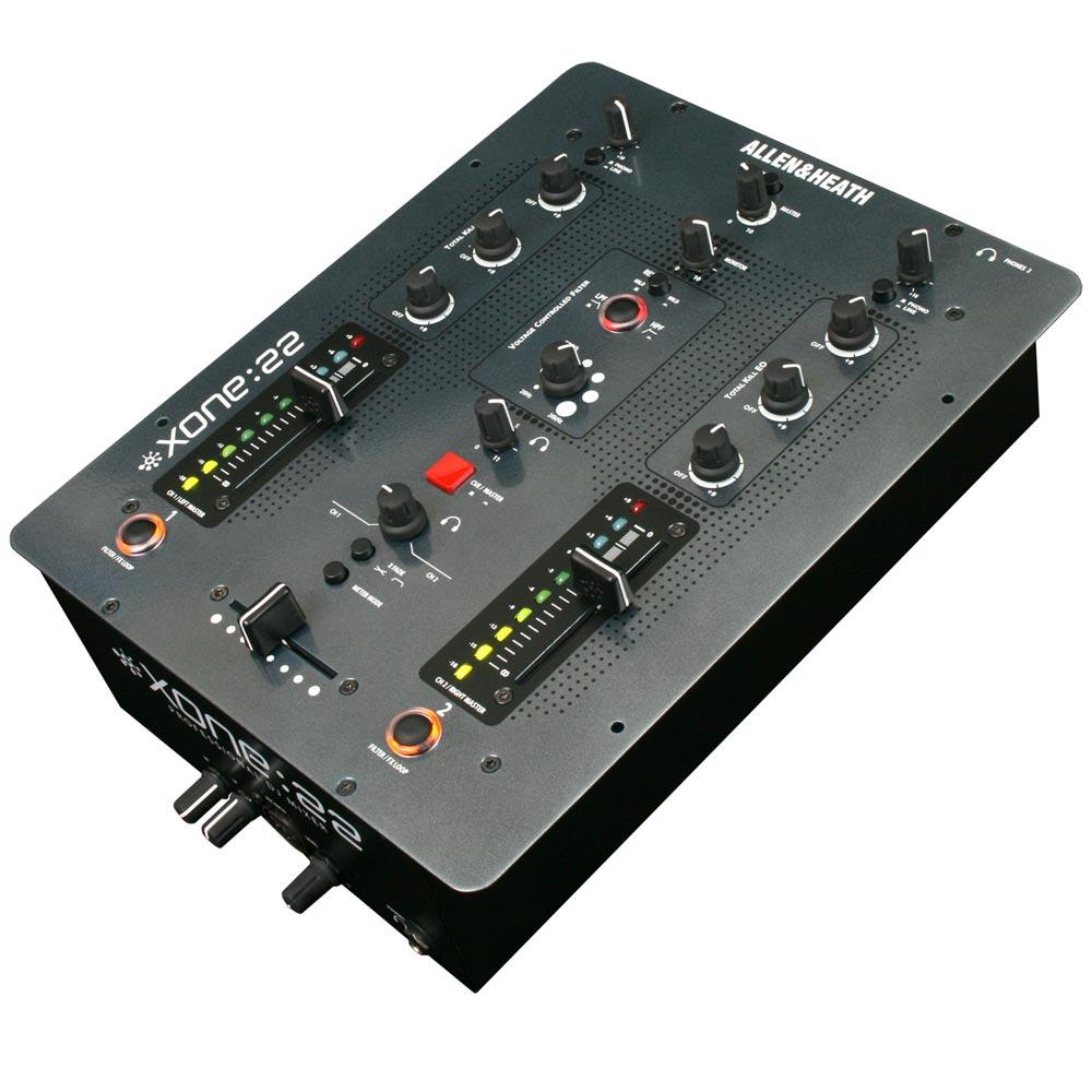 Xone22 - Mixer Dj 2 Canais Xone 22 - Allen Heath