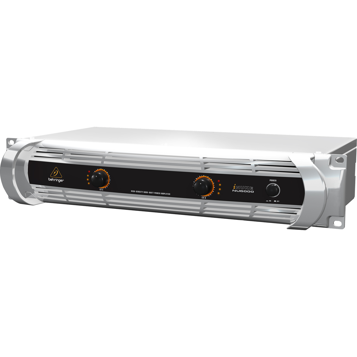NU6000 - Amplificador Est�reo 2 Canais 6000W c/ Crossover NU 6000 - Behringer