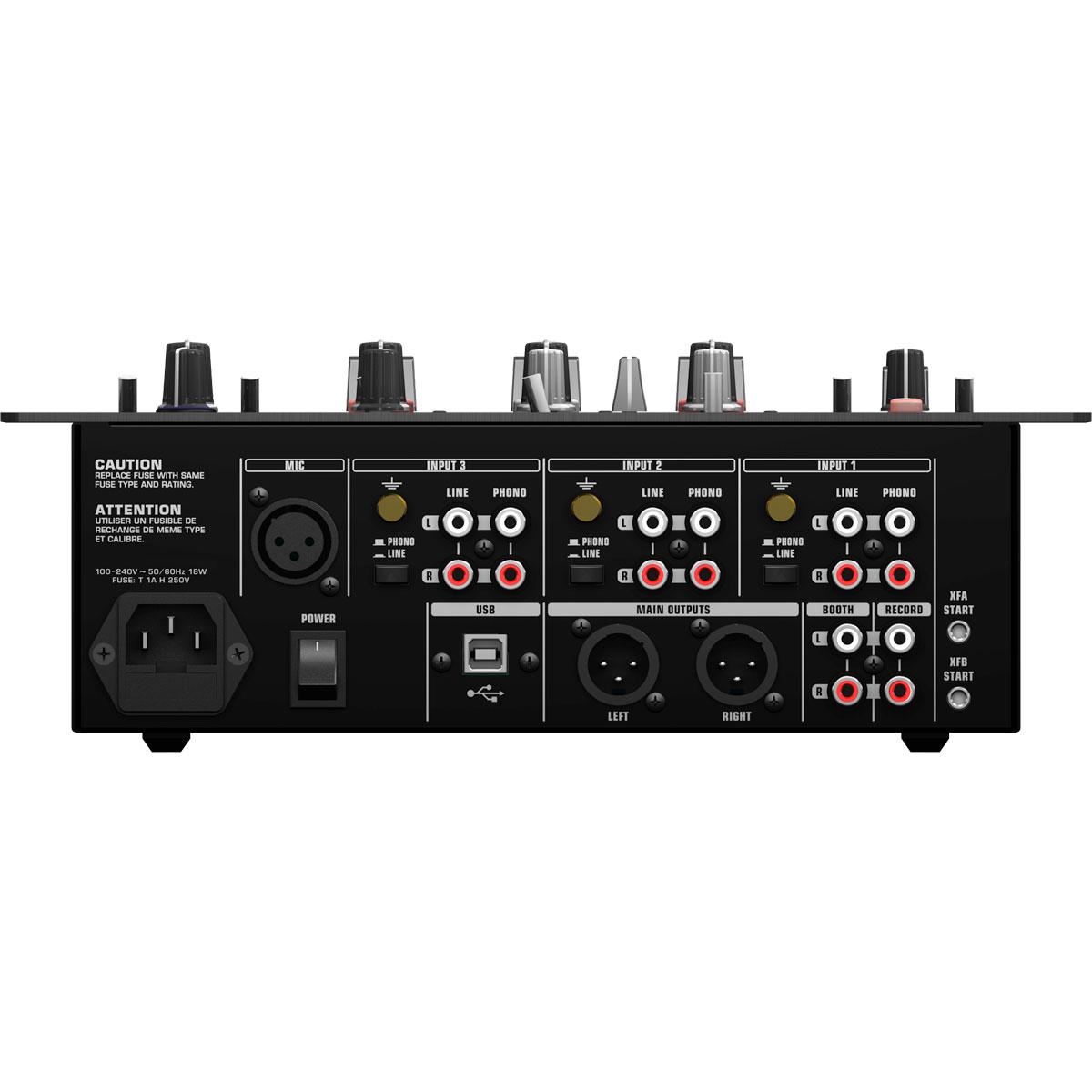 NOX303 - Mixer Dj 3 Canais NOX 303 - Behringer
