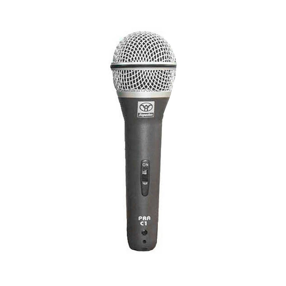 PRAC5 - Kit 5 Microfones c/ Fio de Mão PRA C 5 - Superlux