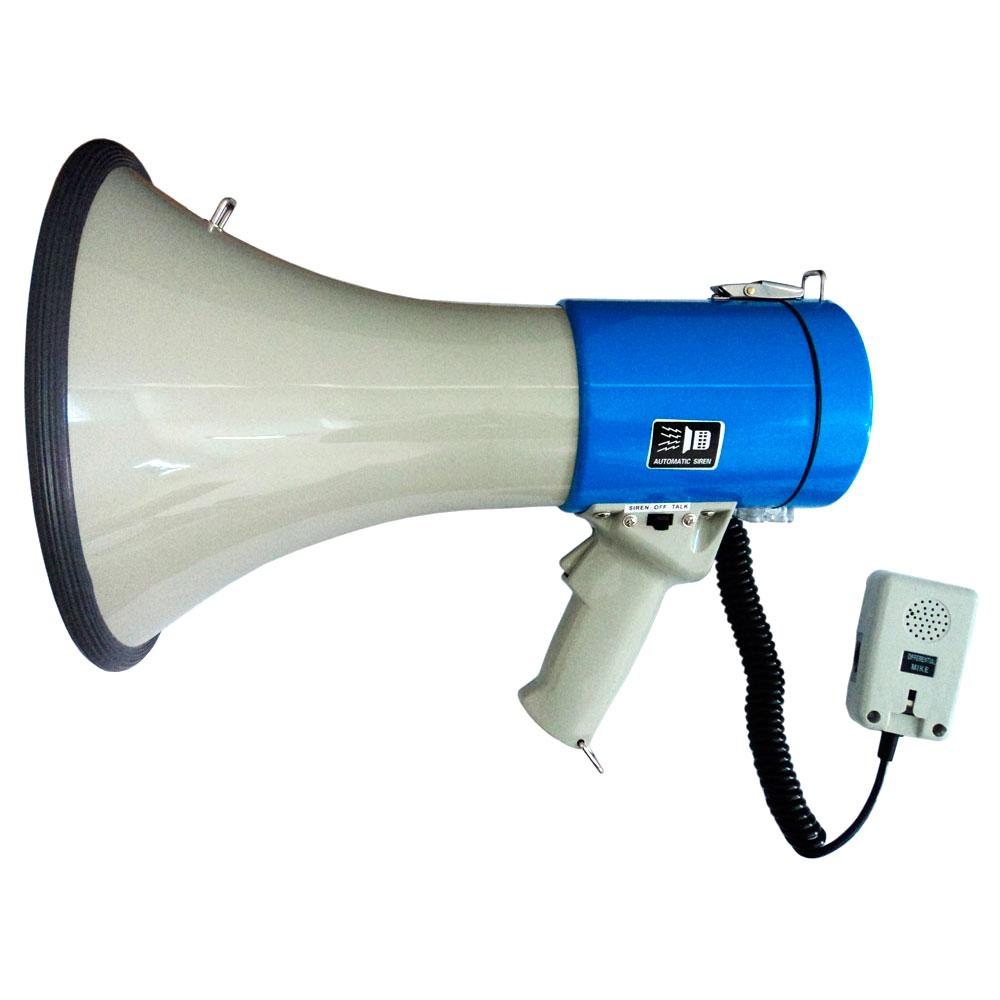 SK66 - Megafone 25W c/ Microfone de Mão, USB e Sirene SK 66 - CSR