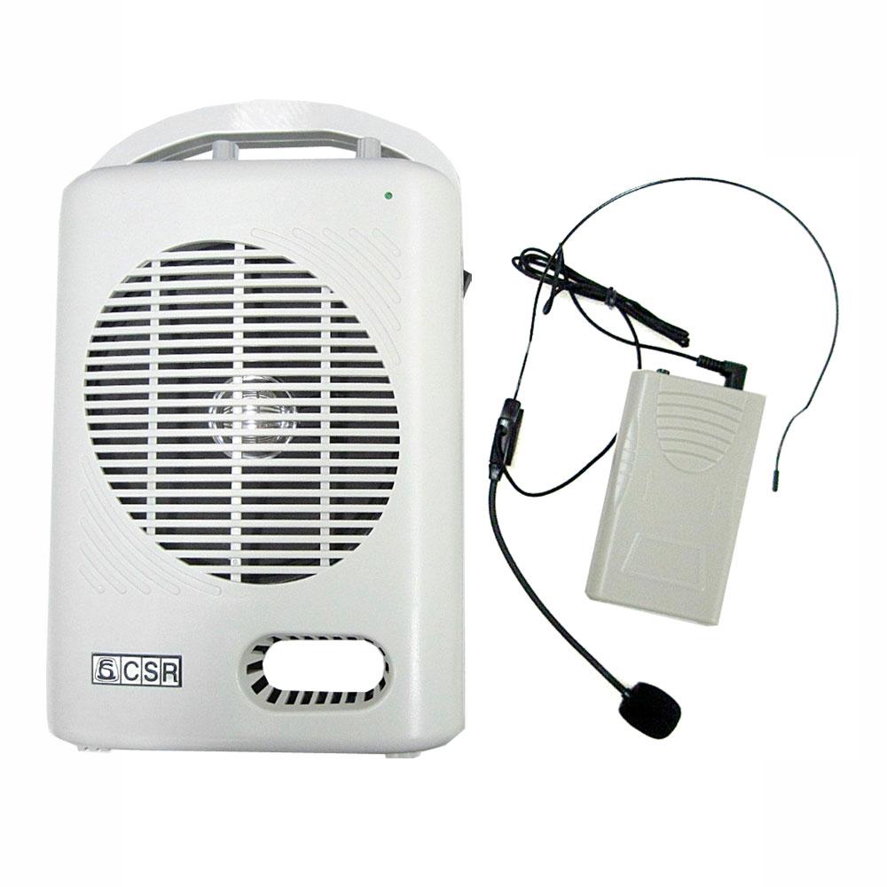 T221USB - Kit Professor Portátil c/ Caixa + Microfone s/ Fio, USB e FM T 221 USB - CSR