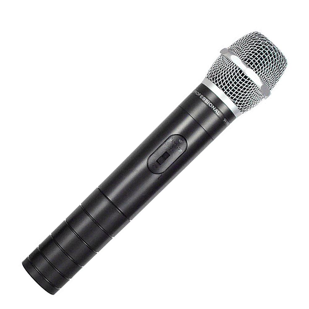 CSR2010A - Microfone s/ Fio de Mão VHF p/ Filmadora CSR 2010 A - CSR