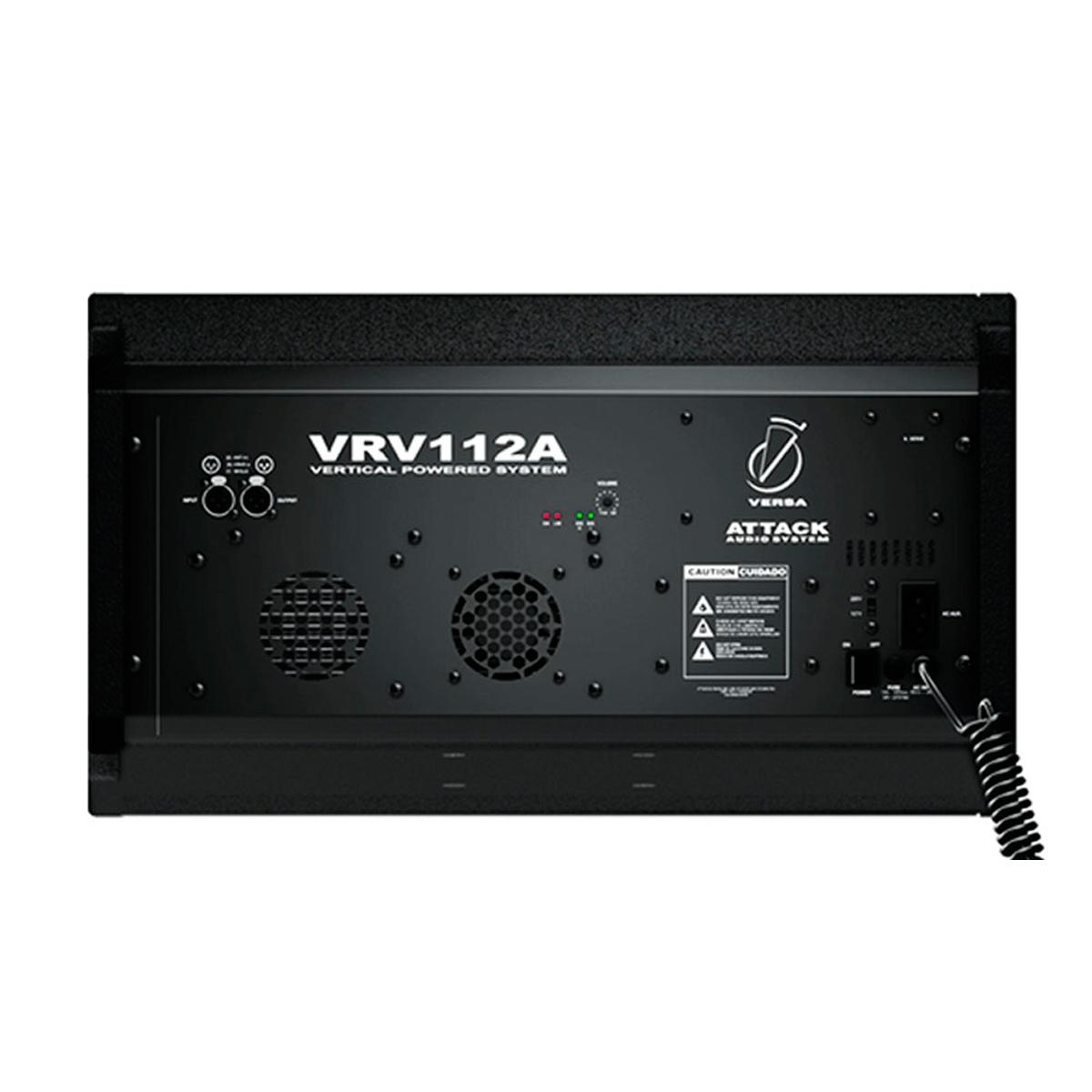 VRV112A - Caixa Ativa Line Array 950W Preta VRV 112 A - Attack