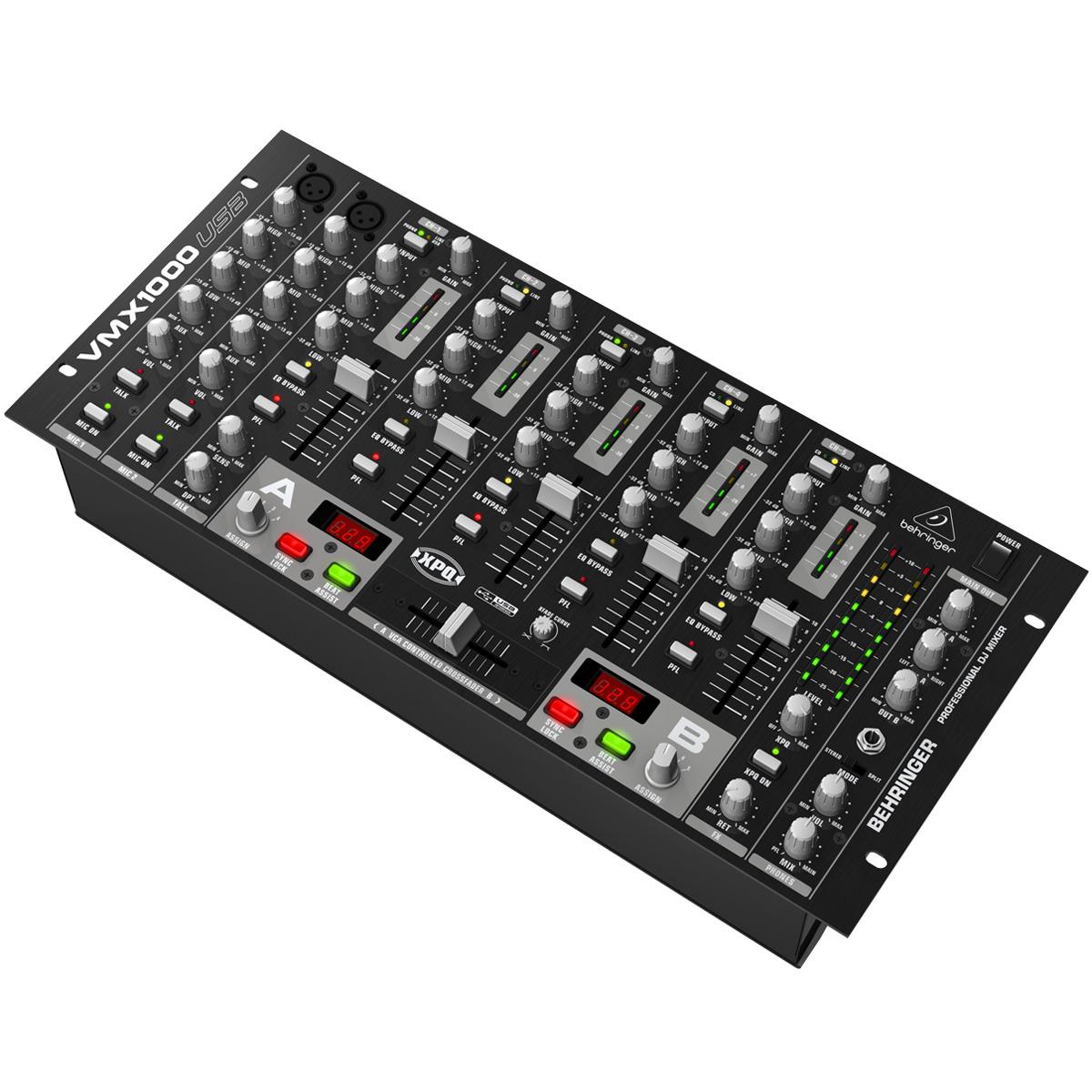 VMX1000USB - Mixer DJ 7 Canais VMX 1000 USB - Behringer
