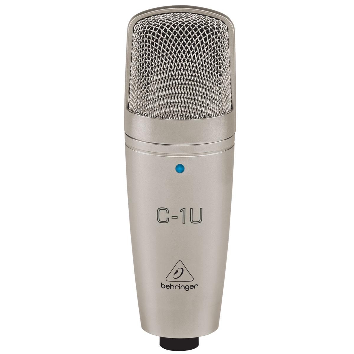 C1U - Microfone c/ Fio p/ Estudio USB C 1U - Behringer