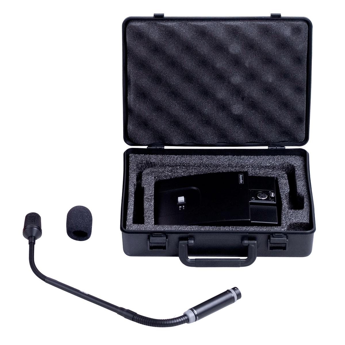 PRA528DS - Microfone Gooseneck c/ Base PRA 528 DS - Superlux