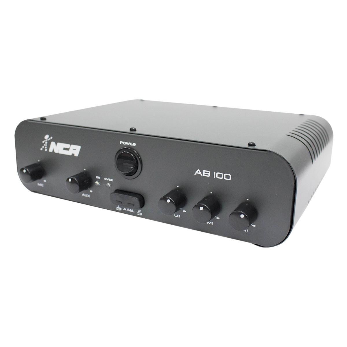 Amplificador Som Ambiente 100W AB 100 - NCA