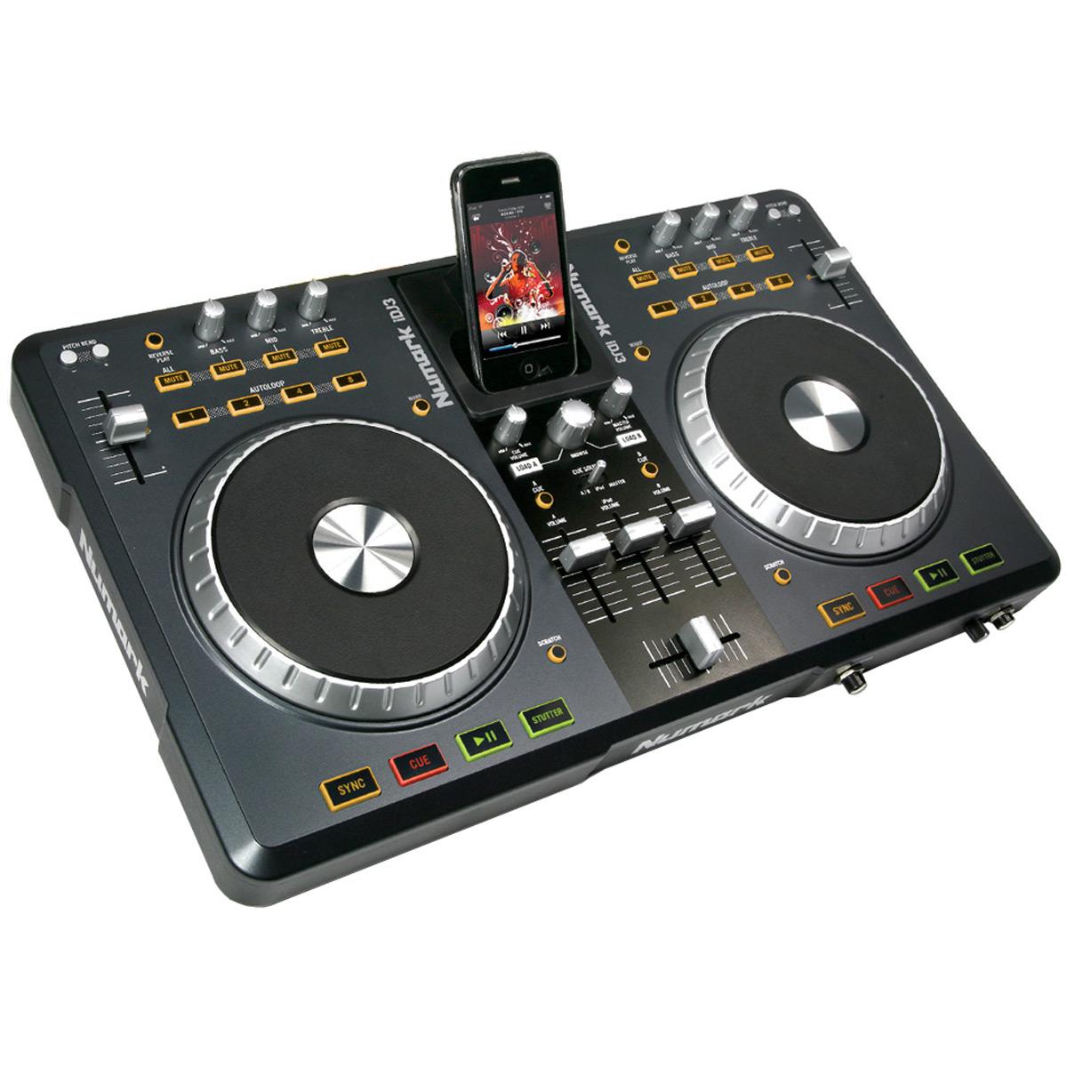 iDJ3 - Controladora DJ c/ Dock p/ iPod iDJ3 - Numark