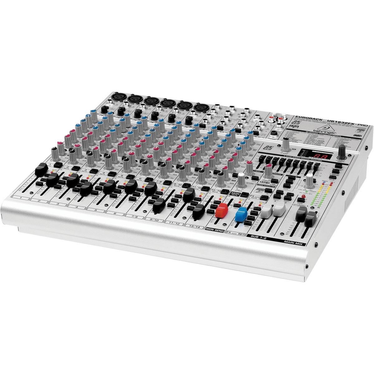 UB1832FXPRO - Mesa de Som / Mixer 18 Canais Eurorack UB 1832 FX PRO - Behringer