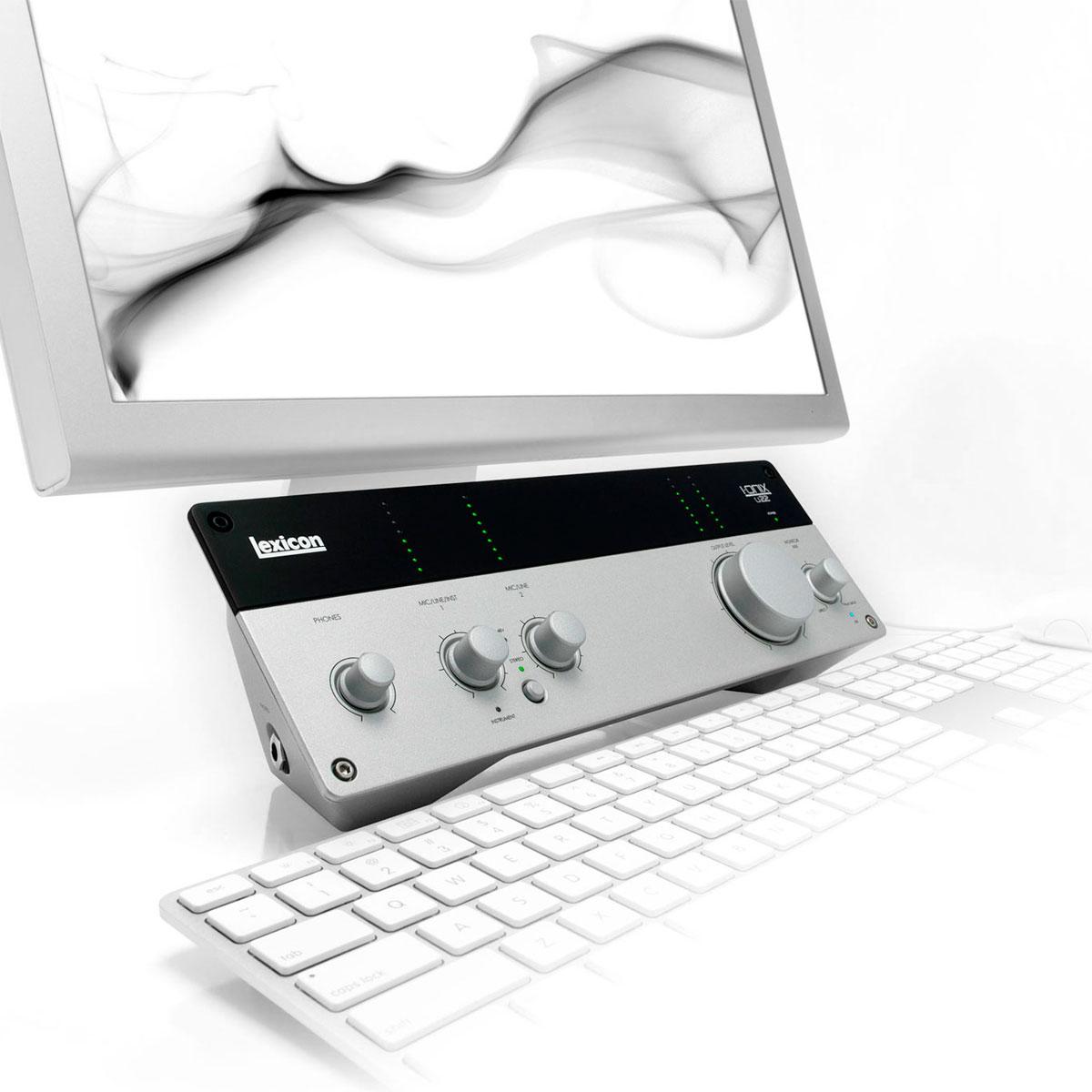 IOnixU22S - Placa de Som Externa USB I Onix U 22 S - Lexicon