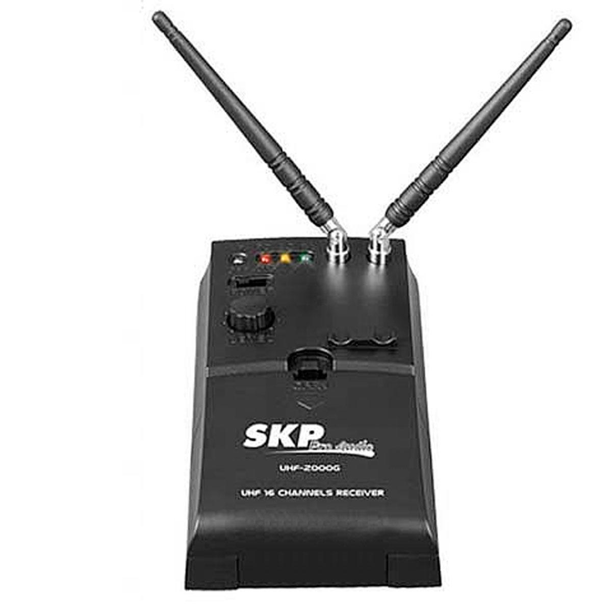 UHF4000S - Microfone s/ Fio p/ Instrumento UHF 4000 S - SKP