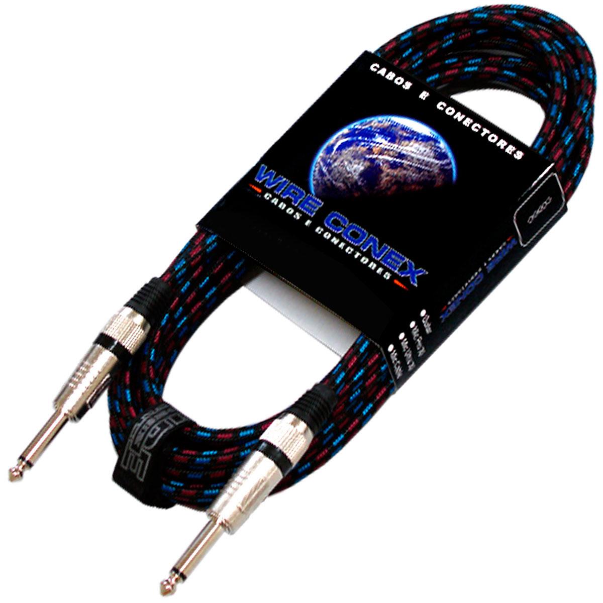 Cabo Têxtil 7Mt P10 M / P10 M Mono - Wireconex