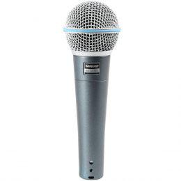 Beta58A - Microfone c/ Fio de M�o Beta 58A - Shure