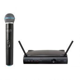 UH01M - Microfone s/ Fio de Mão UHF UH 01 M - Lyco