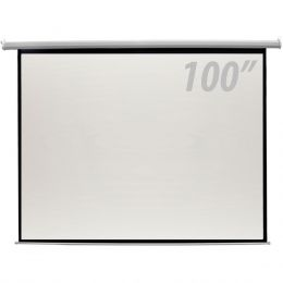 100 - Tela de Proje��o 100 Polegadas El�trica c/ Controle Remoto - CSR