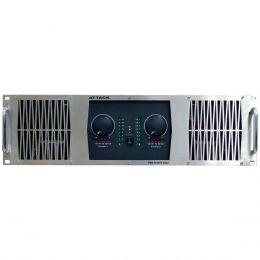 PP8002 - Amplificador Estéreo 2 Canais 8000W PP 8002 - Attack