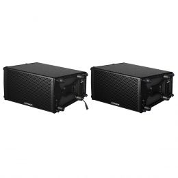 VRD108 - Kit Line Array VRD 108 A + VRD 108 ( Ativa / Passiva ) - Attack