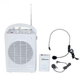 T120B - Kit Professor Portátil c/ Caixa + Microfone s/ Fio T 120 B - CSR
