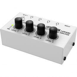 Amplificador p/ Fone de Ouvido 4 Canais - HA 400 Behringer