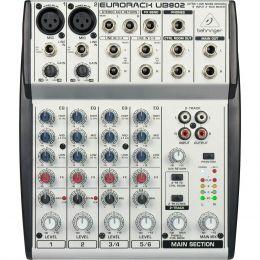 Mesa de Som / Mixer 8 Canais Eurorack UB 802 - Behringer