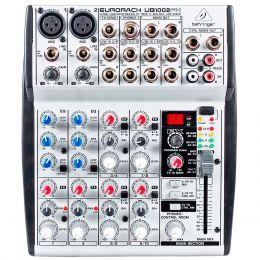 Mesa de Som / Mixer 10 Canais Eurorack UB 1002 FX - Behringer