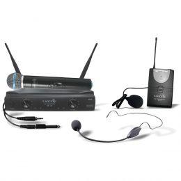 Microfone s/ Fio de Mão / Headset / Lapela e Instrumento - UH 02 MHLI Lyco