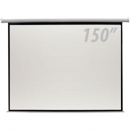 150 - Tela de Proje��o 150 Polegadas El�trica c/ Controle Remoto - CSR