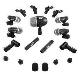 Microfone c/ Fio p/ Bateria (7 Unidades) - LDK 7 PRO Lyco