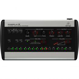 P16M - Mixer Pessoal Digital 16 Canais Powerplay P16 M - Behringer