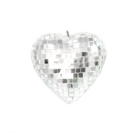 Coração Espelhado 10cm - Magma