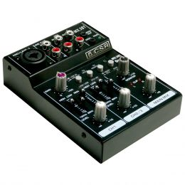 MX3BT - Mesa de Som / Micro Mixer 3 Canais c/ Bluetooth e USB MX 3 BT - CSR