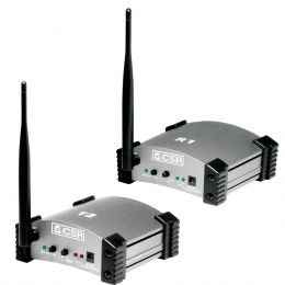 R1T2 - Kit Receptor + Transmissor de Áudio via Wireless R1 T2 - CSR