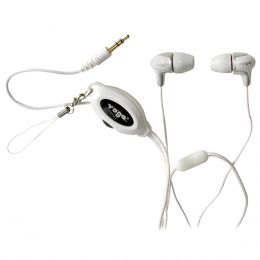 CD368 - Fone de Ouvido In-ear Branco CD 368 - Yoga
