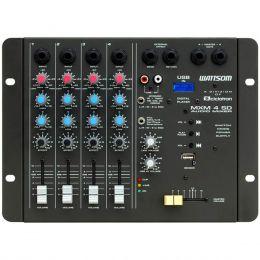 MXM4SD - Mesa de Som / Mixer 4 Canais USB MXM 4 SD - Ciclotron