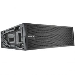 L208D - Caixa Ativa Line Array 1350W Vertcon L 208 D - Attack