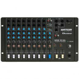 MXS10SA - Mesa de Som / Mixer 10 Canais MXS 10 SA - Ciclotron