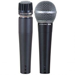 S2PM - Kit 2 Microfones c/ Fio M�o / Instrumento S2 PM - Waldman