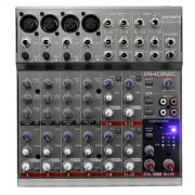 AM 125 FX - Mesa de Som / Mixer 12 Canais AM125FX Phonic - VENDAS RAPIDAS.COM - Som Profissional - Projetores - Tel�o